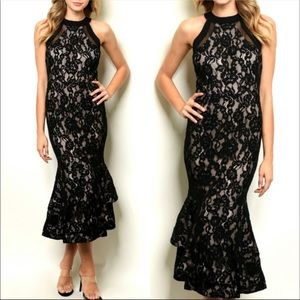SEDUCTIVE Black Formal Dress